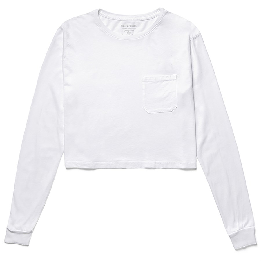 aa1a1056c Richer Poorer Cropped Long-Sleeve T-Shirt - Women's