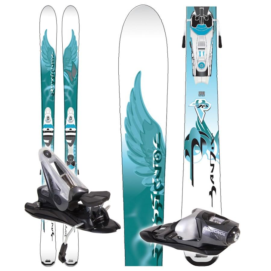 Rossignol Bandit B78 W Skis + Bindings