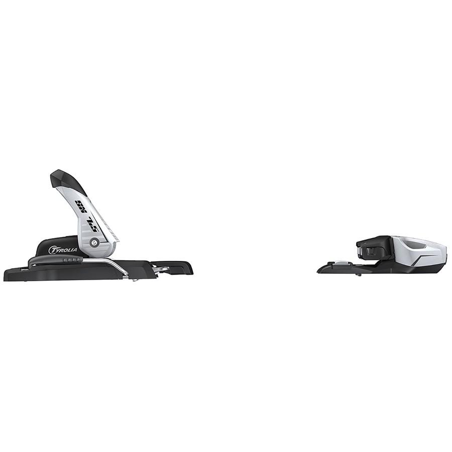 Tyrolia SX 7.5 AC Ski Bindings 78mm Solid Black//White