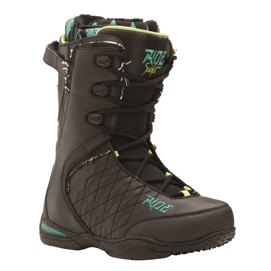 ride scarlet snowboard boots s 2009 evo outlet