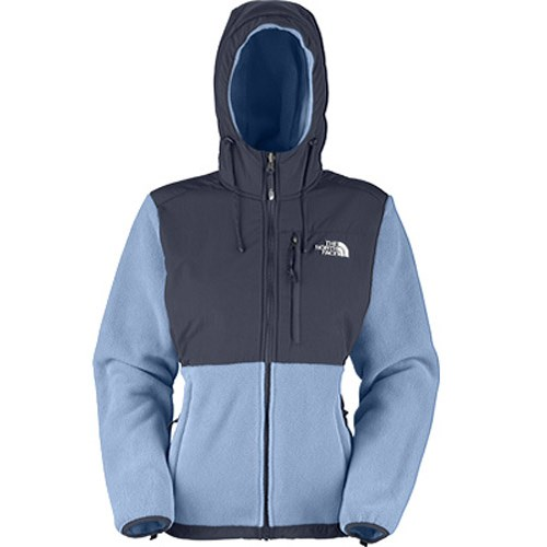 North Face Denali Hoodie Womens Blue 42
