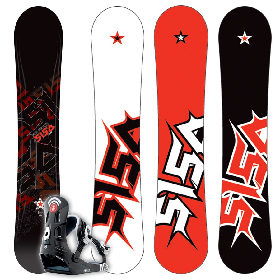 5150 Vice Snowboard + FF1500 (Black) Bindings L 2009