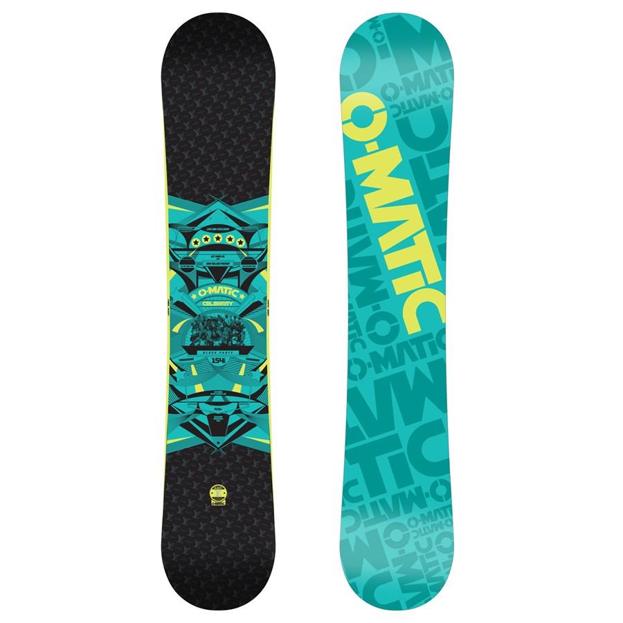 Omatic Celebrity (Louie Vito) Snowboard 2009   evo