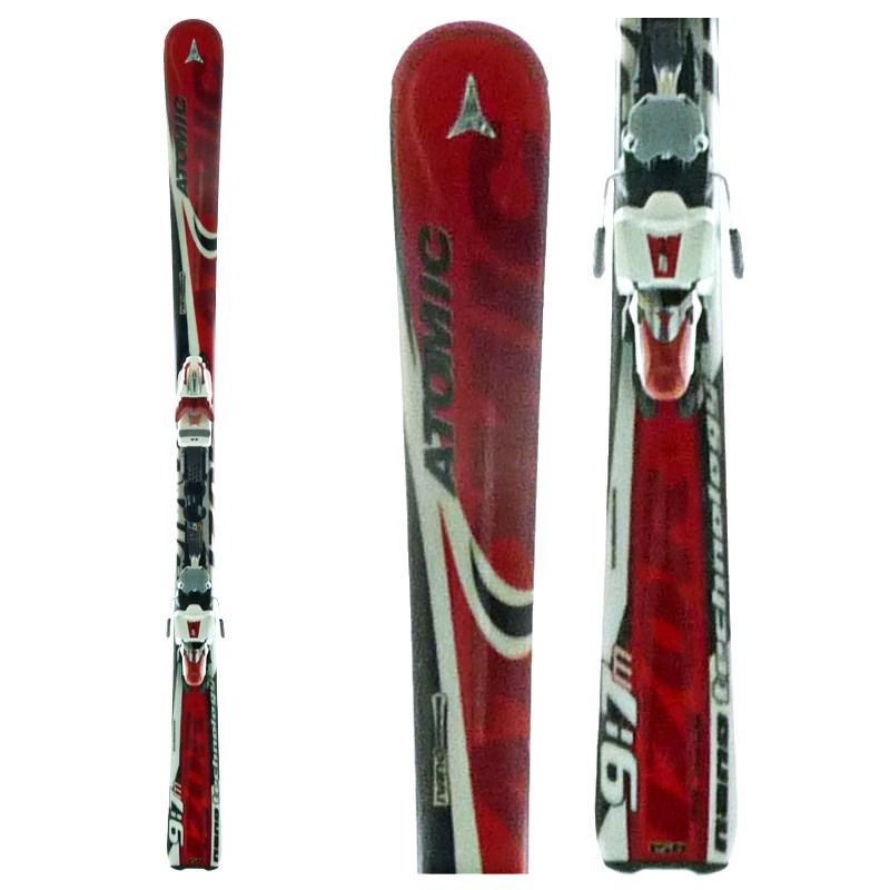 Atomic Izor 9:7 Skis + Bindings - Used 2007