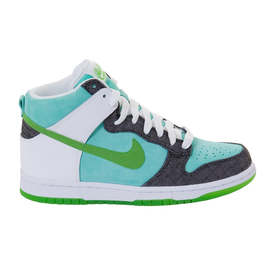 Creative Nike Dunk Sky HighHeels Casual Shoes In Black White Big Discount For