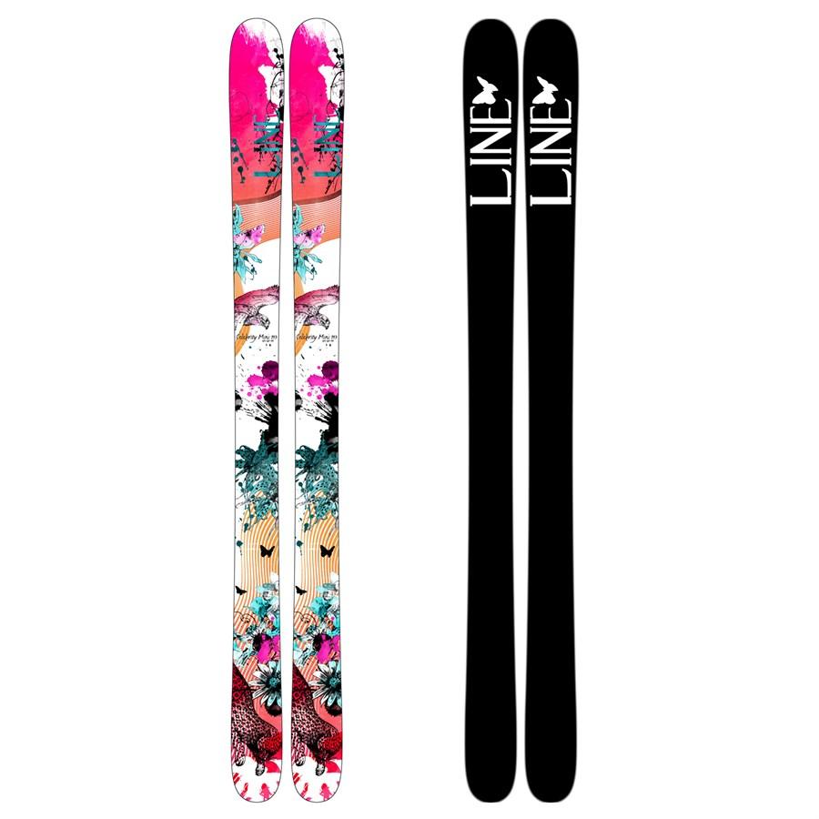 2013 Line Celebrity 85 Ski Review By Skis.com - YouTube