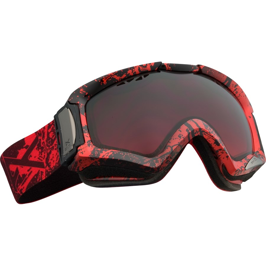 oakley outlet loveland  anon realm goggles shank red gradient