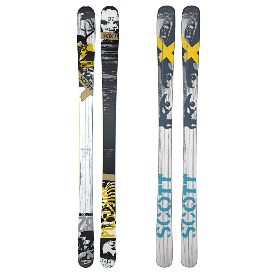 Scott Punisher Skis + Bindings - Used 2008