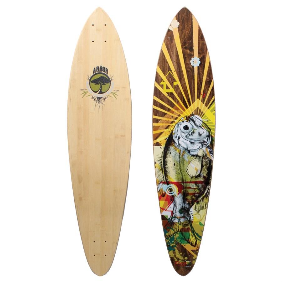 Arbor fish bamboo longboard deck evo for Arbor fish longboard