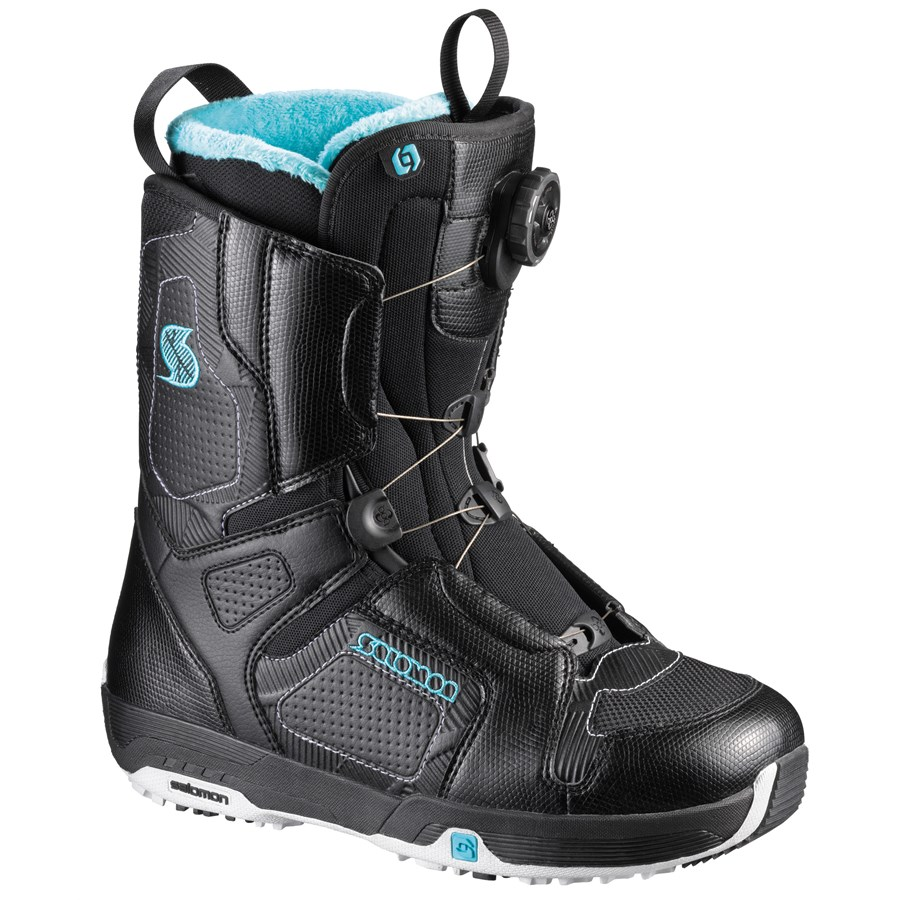salomon pearl boa snowboard boots women 39 s demo 2011 evo outlet. Black Bedroom Furniture Sets. Home Design Ideas