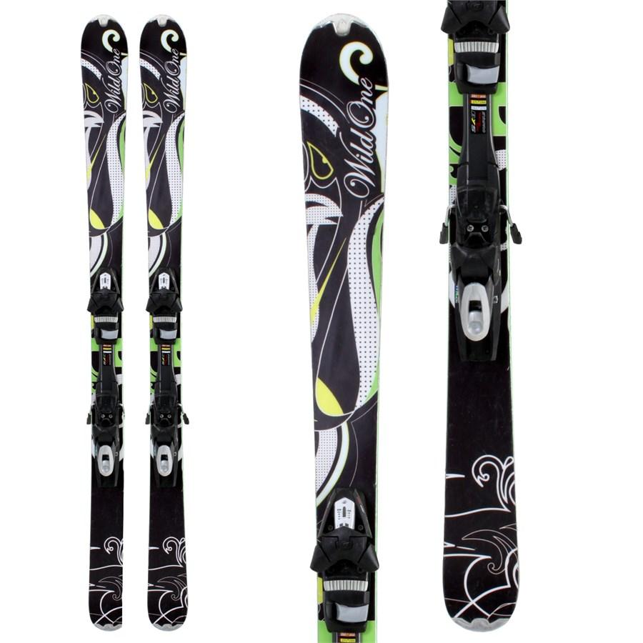 Head Wild One Skis + Bindings - Women's - Used 2010