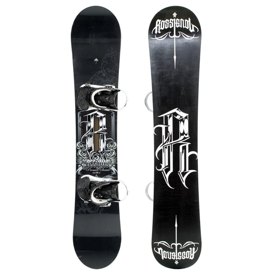 Rossignol Premier Snowboard + Bindings - Used 2009