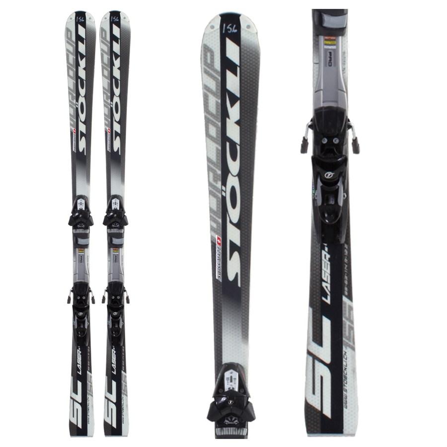 Stockli Laser Sc Skis Bindings Used 2009 Evo
