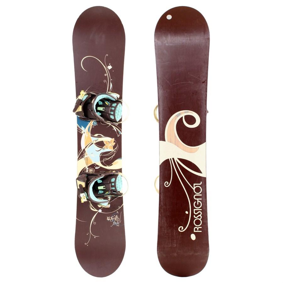 Rossignol Diva Snowboard + Bindings