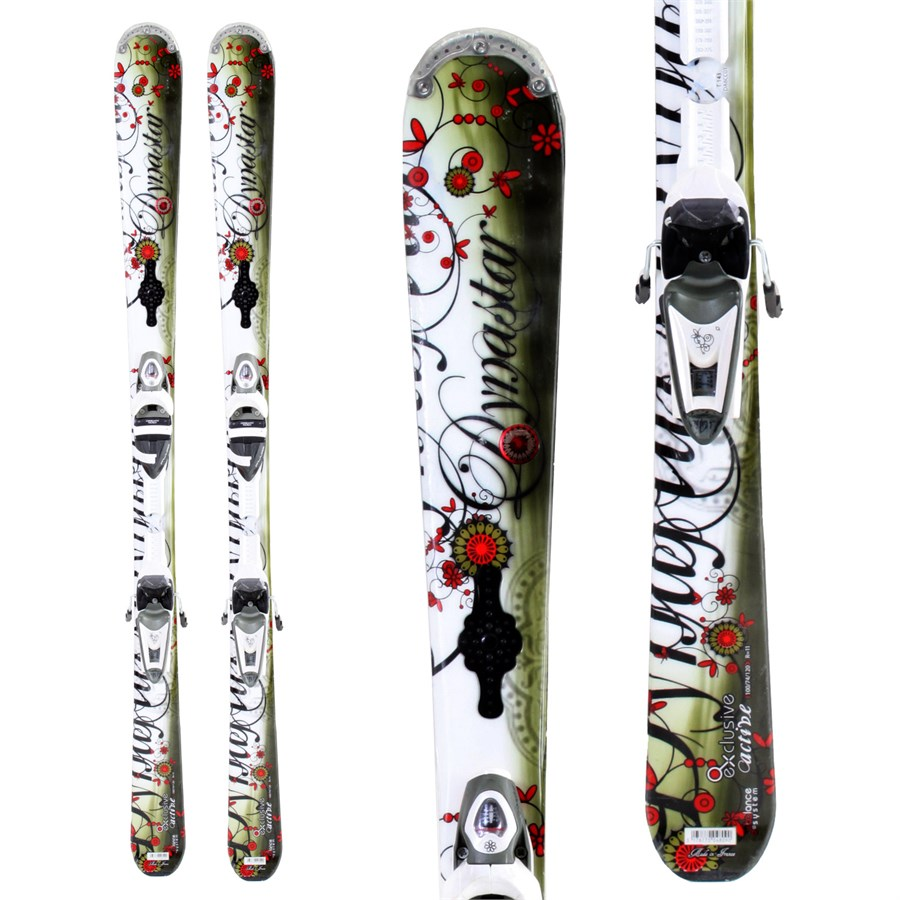 dynastar exclusive active skis bindings women 39 s used 2009 evo. Black Bedroom Furniture Sets. Home Design Ideas