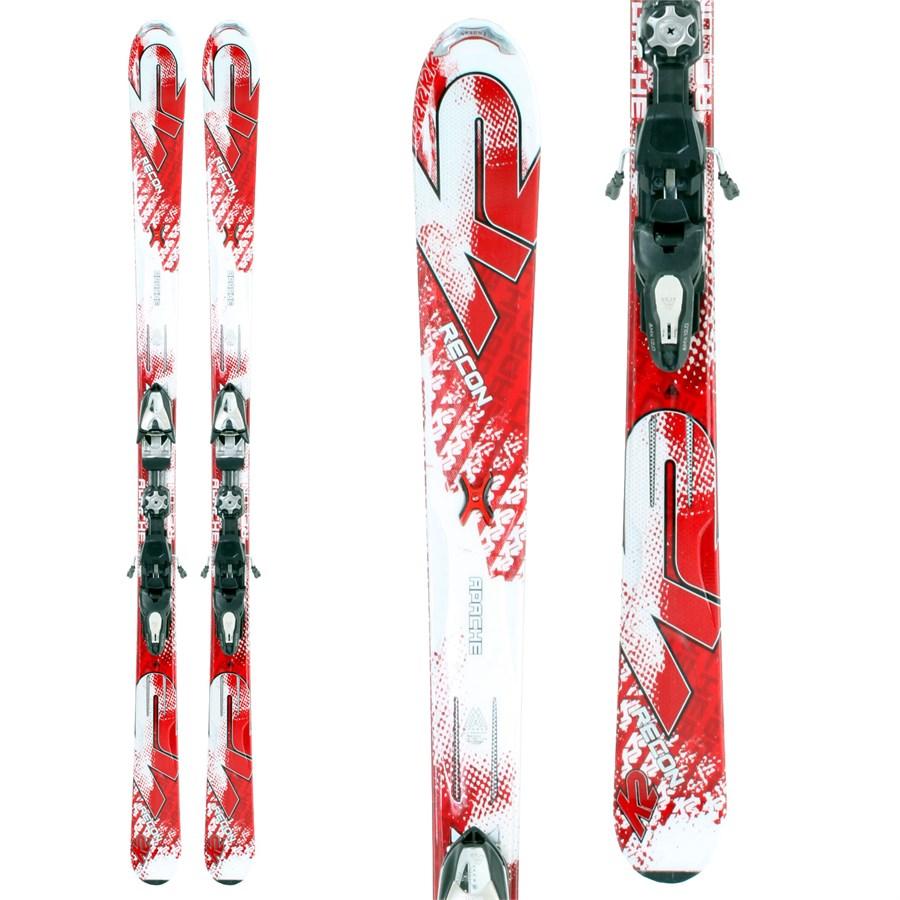 K2 Apache Recon Skis + Bindings - Used 2010