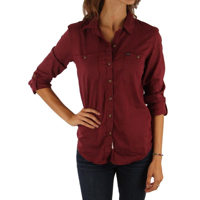 Hurley Wilson Shirting Button Down Shirt Women 39 S Evo