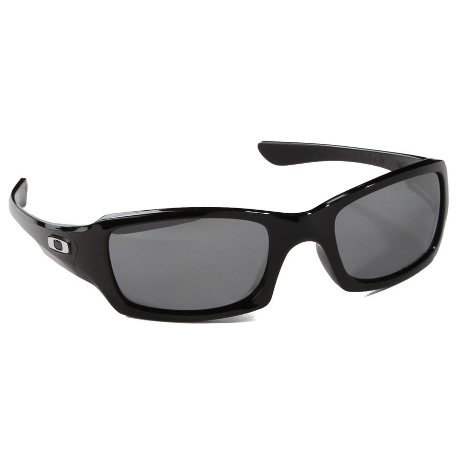 oakley fives squared polished black sunglasses. Black Bedroom Furniture Sets. Home Design Ideas