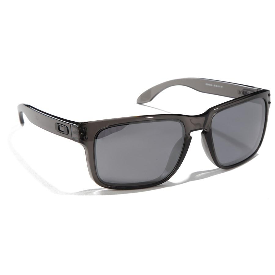 oakley holbrook glasses neyu  oakley holbrook sunglasses grey smoke black iridium front