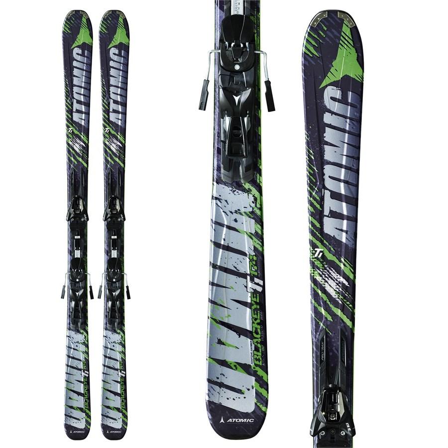 Atomic Blackeye Ti Skis + XTO 12 Bindings 2012