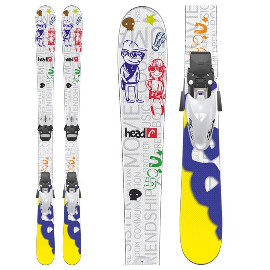 Head Mojo Jr Skis + SL 75 Bindings - Youth 2012
