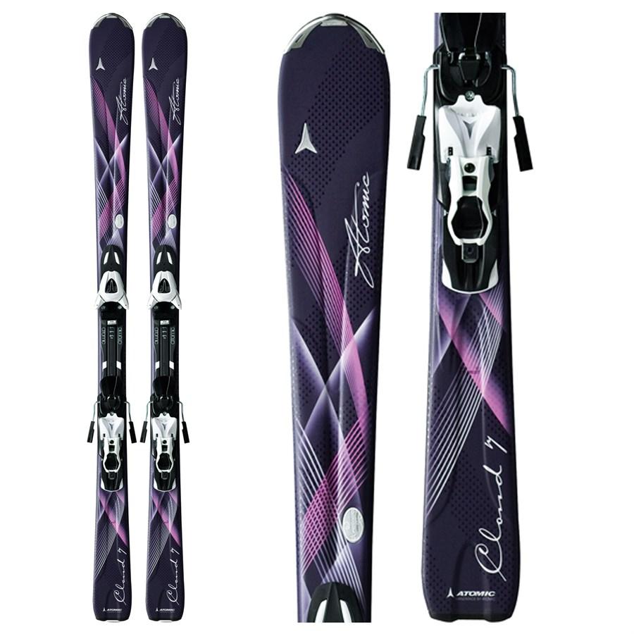 Atomic Cloud 7 Skis + XTL 9 Lady Bindings - Women's 2012