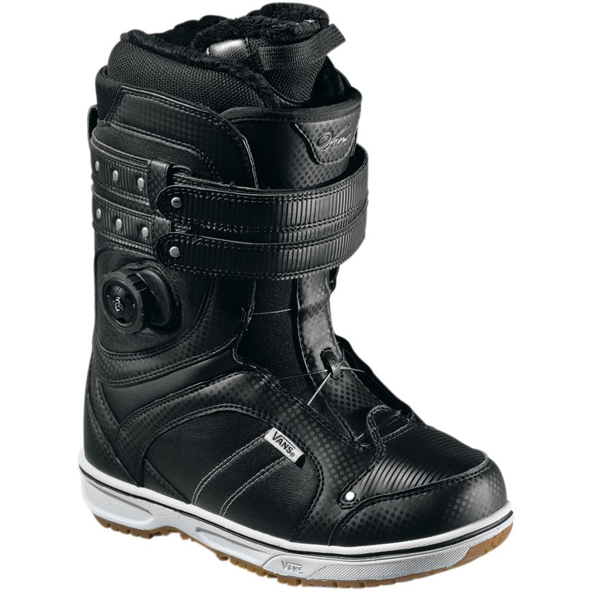 vans kira boa snowboard boots women 39 s 2012 evo outlet. Black Bedroom Furniture Sets. Home Design Ideas