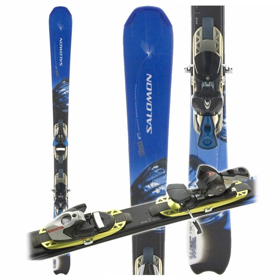 Salomon Siam 7 Pilot Skis + Salomon S710 Ti Bindings