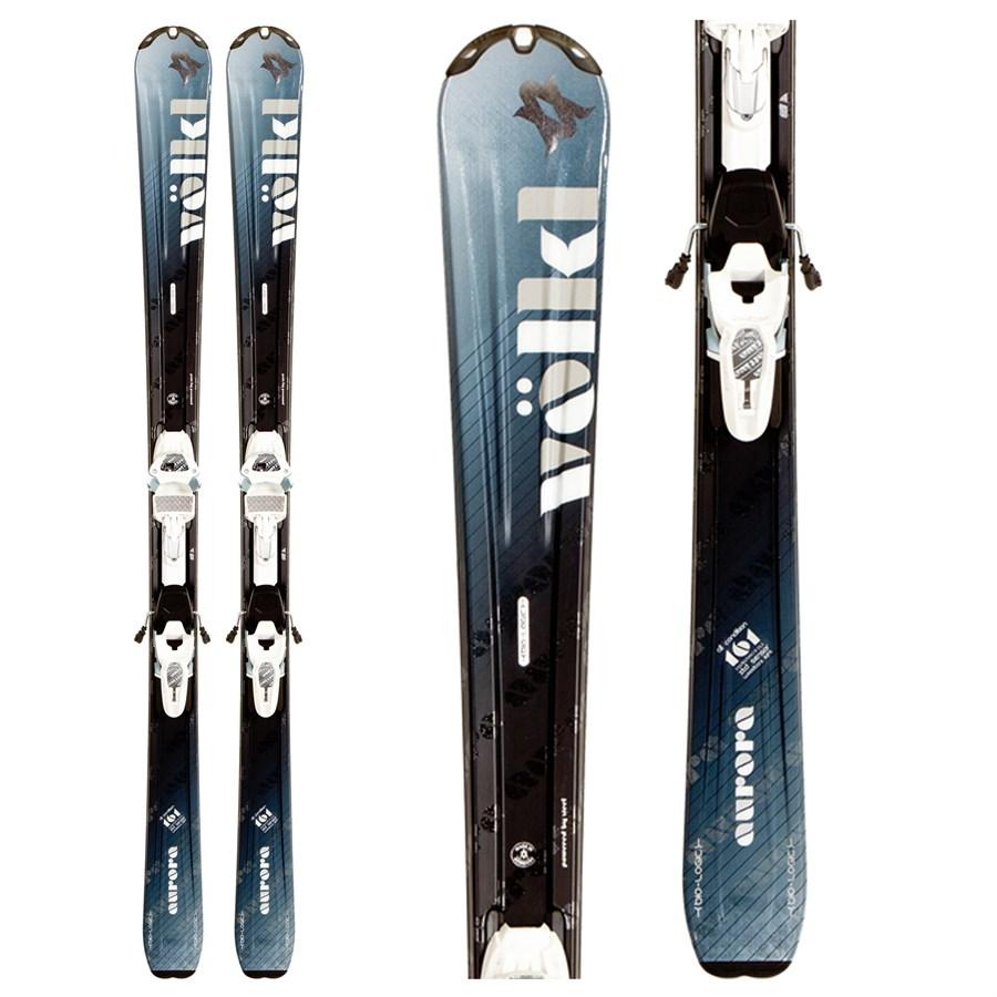 Volkl Aurora Skis + IPT Wide Ride 12.0 Bindings