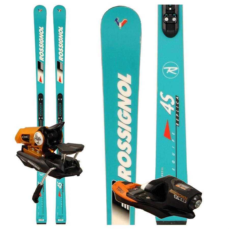 Rossignol 4S Replica Skis + Axial2 140 Bindings 2009