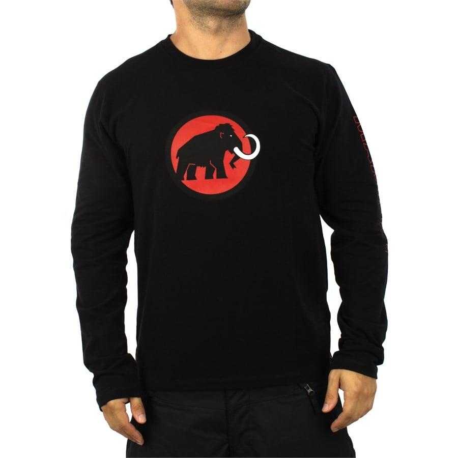 Mammut Logo Long Sleeve Men Longsleeve Men/'s Shirt Woods