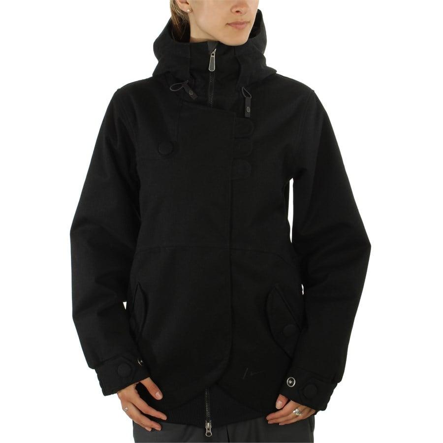 Womens black snowboard jackets
