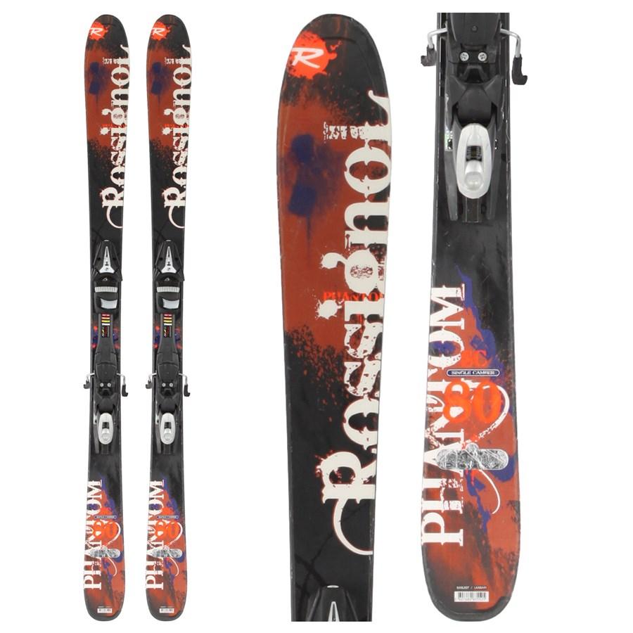 Rossignol SC 80 Skis + Bindings - Used 2010