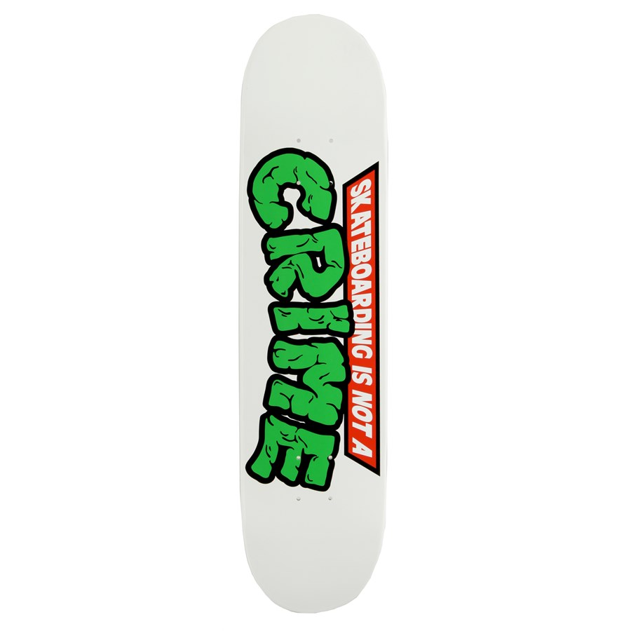 Skateboarding is not a crime deck