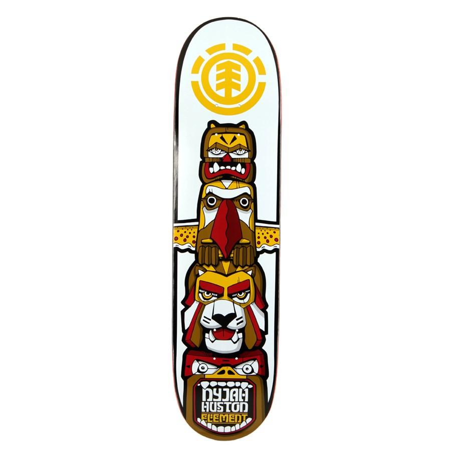 Element Nyjah Totem Skateboard Deck Evo