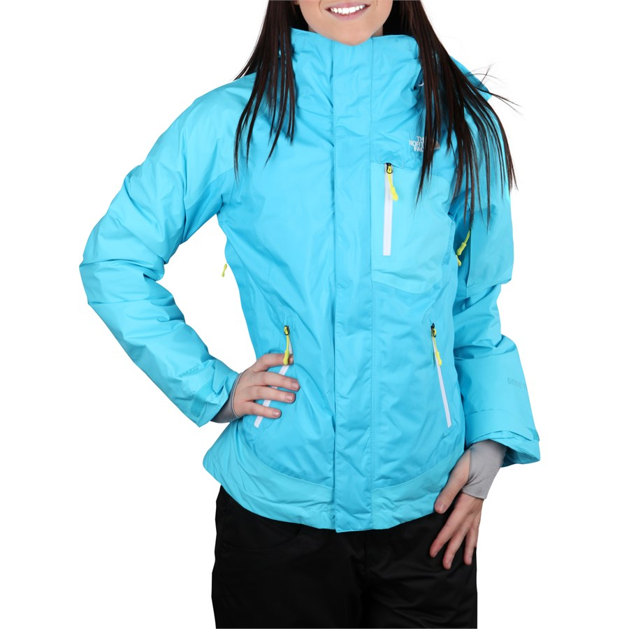 Turquoise North Face Jacket