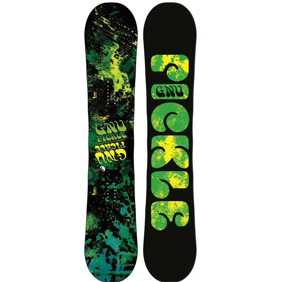 Gnu Park Pickle 2013-14 Snowboard Review