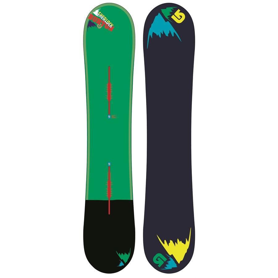 burton sherlock snowboard 2013 evo