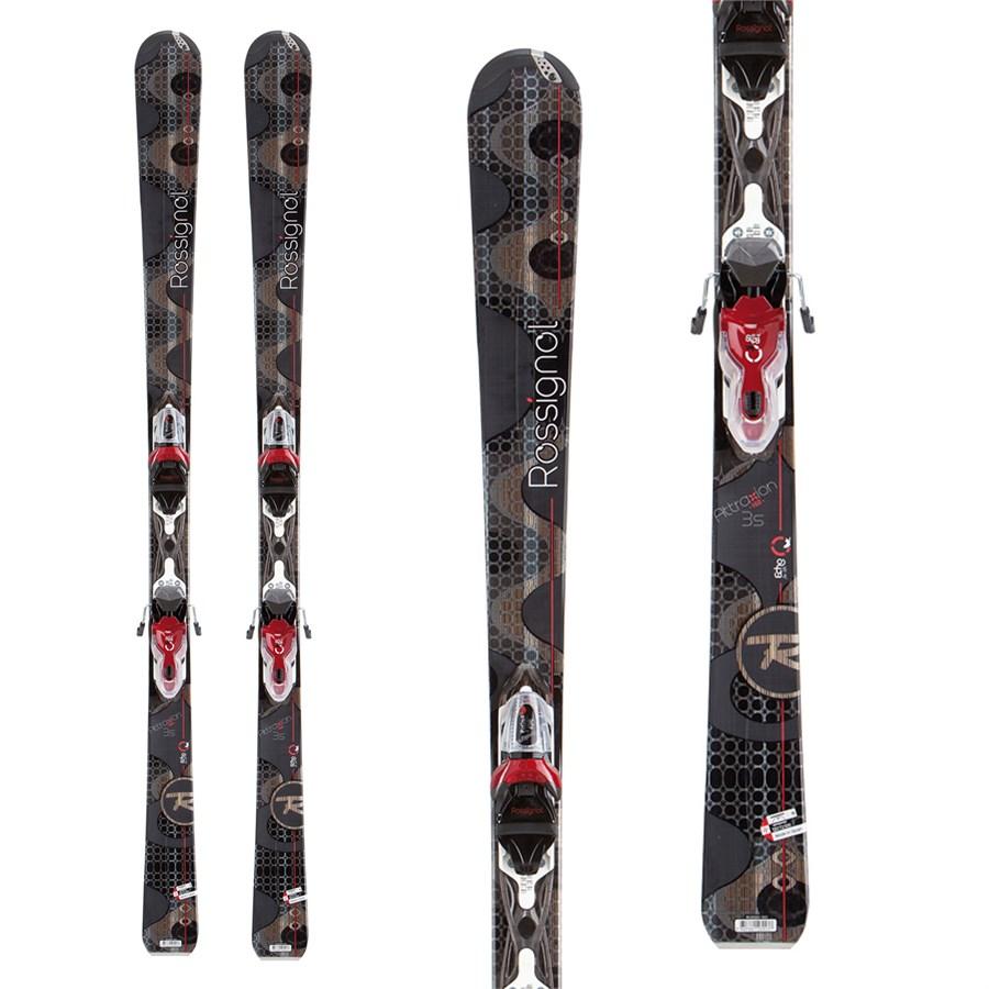 Rossignol Attraxion 3 Skis + Xelium Saphir 110 Bindings