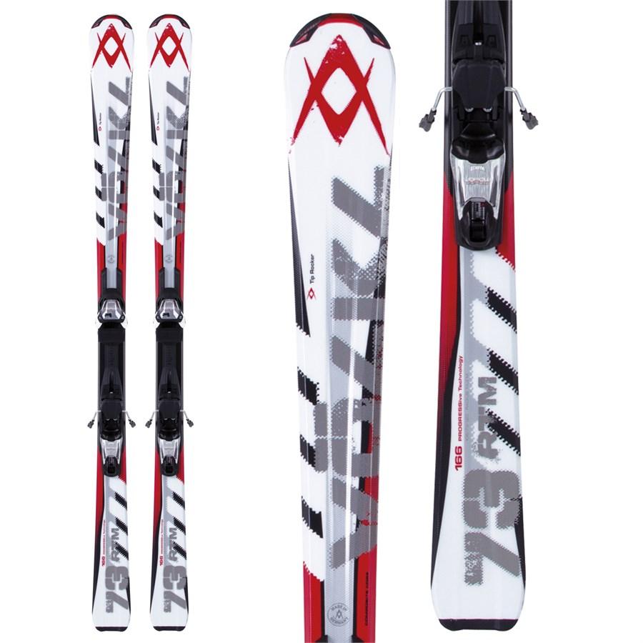 Volkl RTM 73 Skis + 3Motion 10.0 TP Bindings 2013