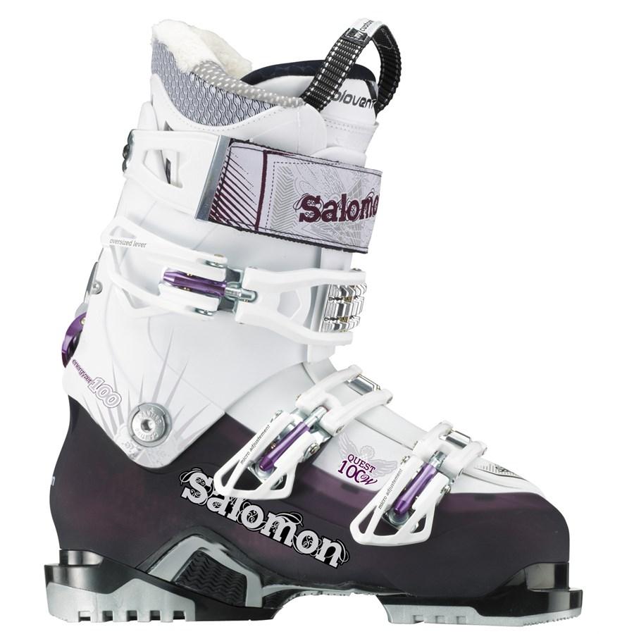 salomon quest 100 ski boots s 2014 evo outlet