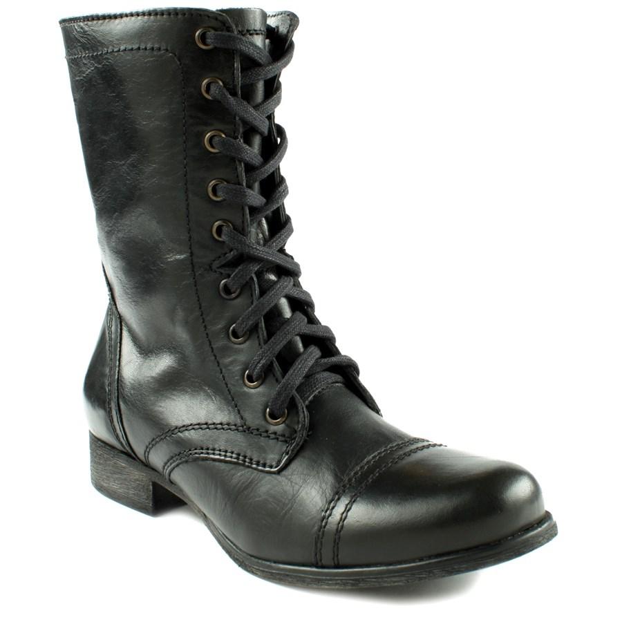 steve madden troopa boots women 39 s evo. Black Bedroom Furniture Sets. Home Design Ideas