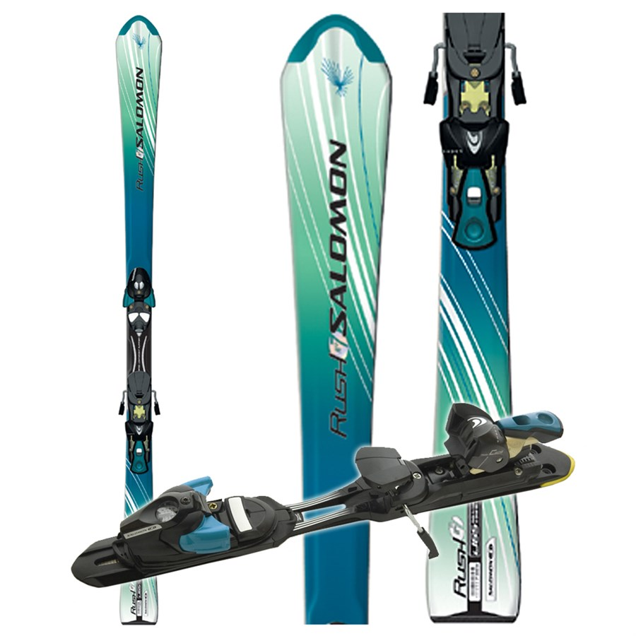 Salomon Rush 7 Skis + Salomon S 711 Bindings
