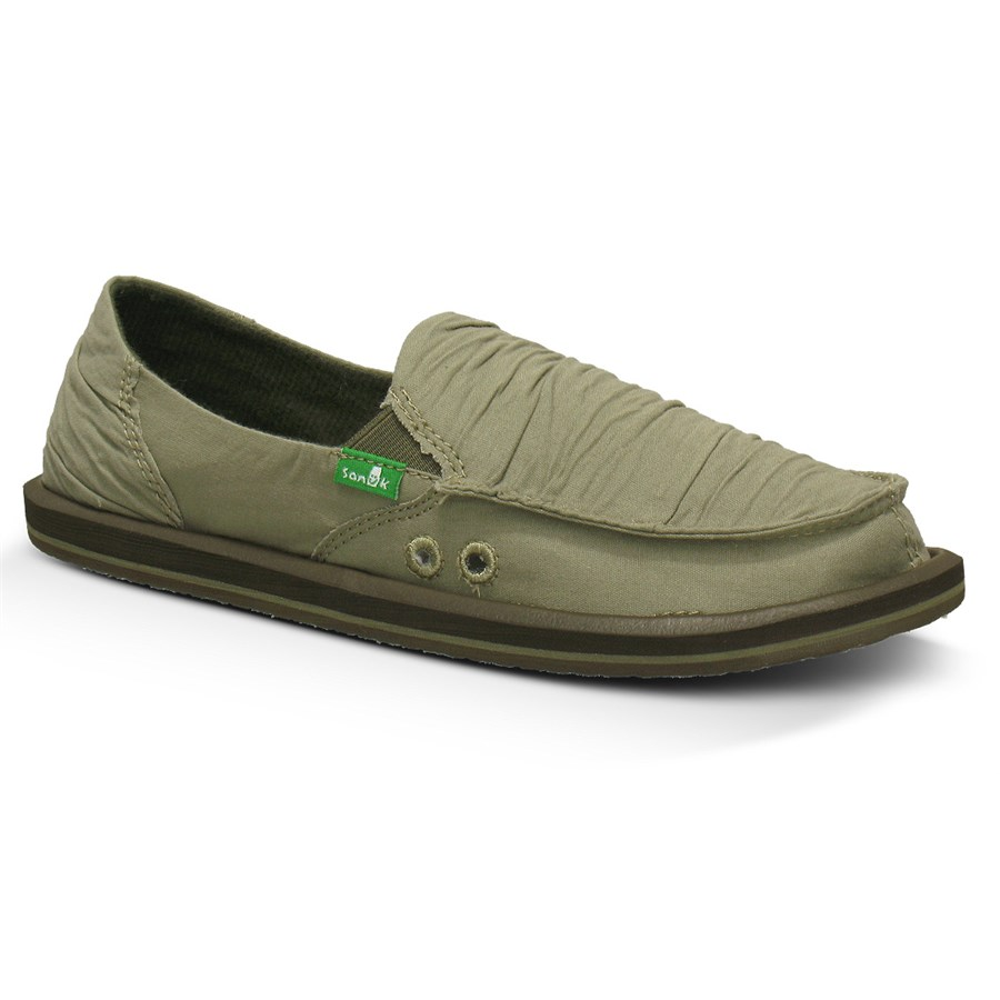 Sanuk Shuffle Slip On Shoes Womens