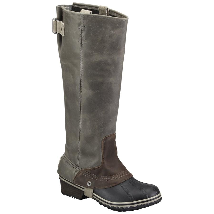 Sorel Slimpack Riding Tall Boots Women S Evo