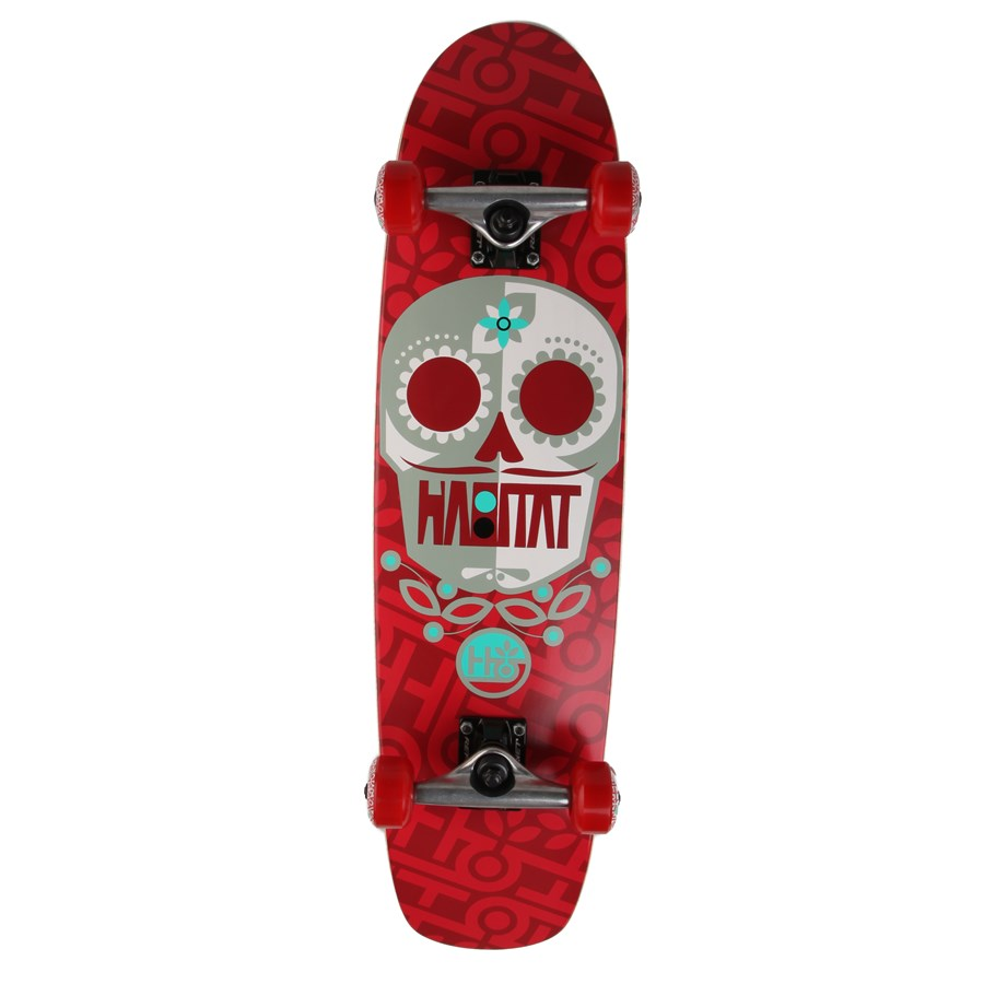 Habitat habitat sugar skull skateboard complete for Habitat outlet