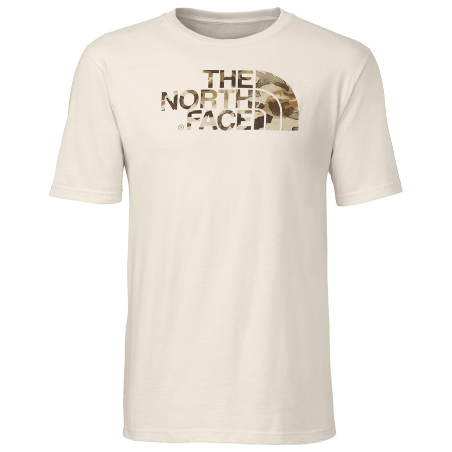 The North Face Water Camo Logo T Shirt Evo Outlet