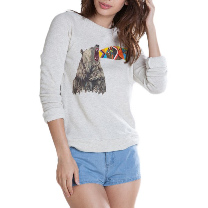 obey clothing unquenchable thirst top womens evo outlet
