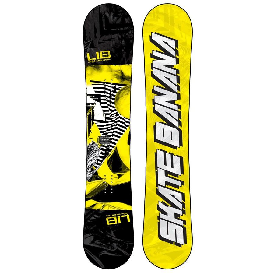 Snowboard banana
