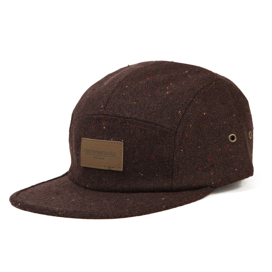 5 panel hat how to wear